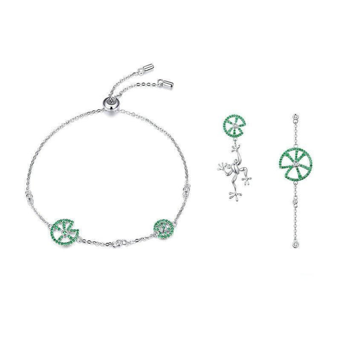 Sterling Silver Jewellery Set - ZHS073