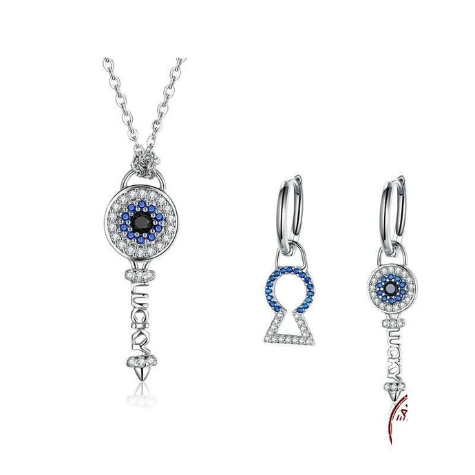 Sterling Silver Jewellery Set - ZHS075