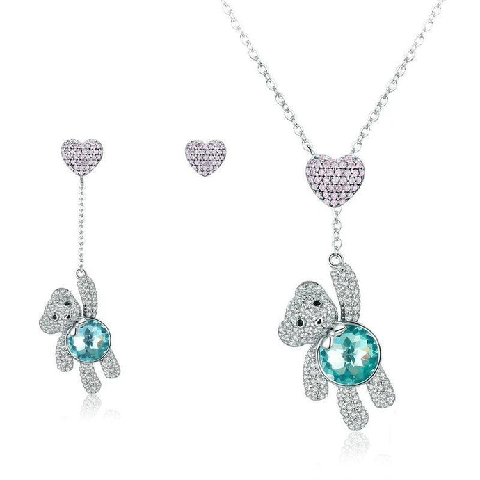 Sterling Silver Jewellery Set - ZHS082