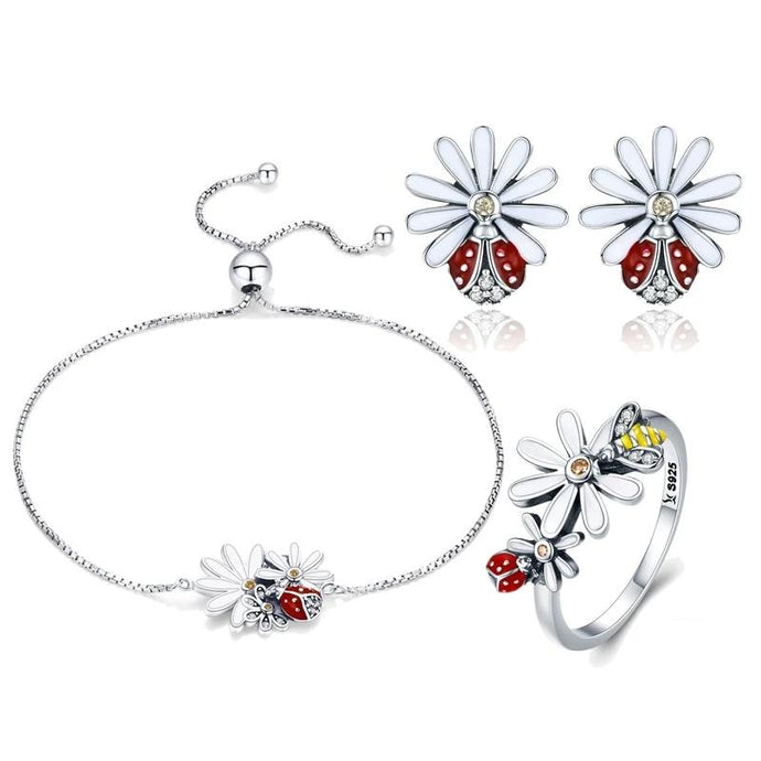 Sterling Silver Jewellery Set - ZHS094