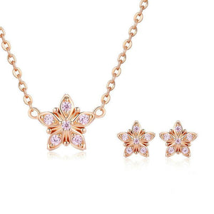 Sterling Silver Jewellery Set - ZHS098