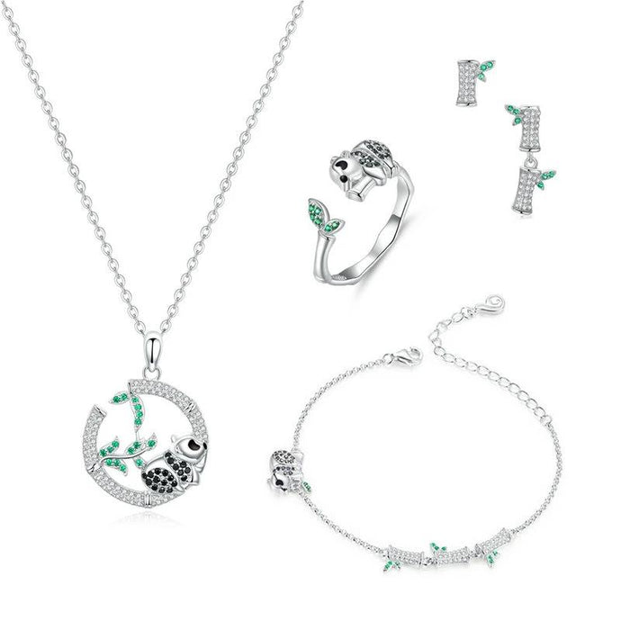 Sterling Silver Jewellery Set - ZHS130