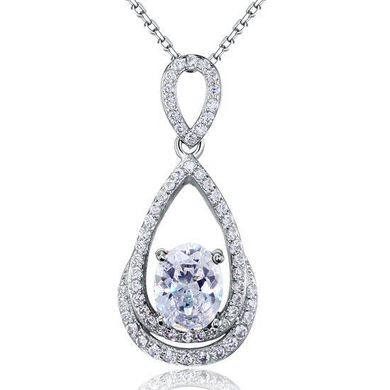 Sterling Silver Necklace - PFN8017