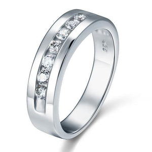 Sterling Silver Men's Ring - PFR8057