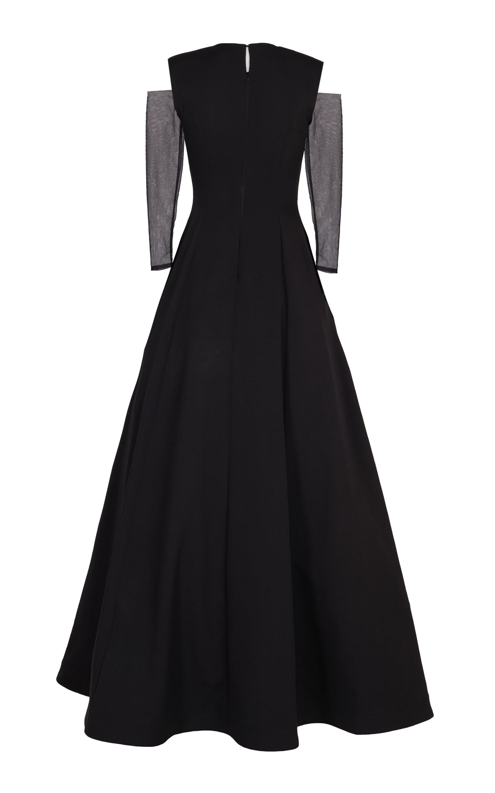 Black princes cut full gown