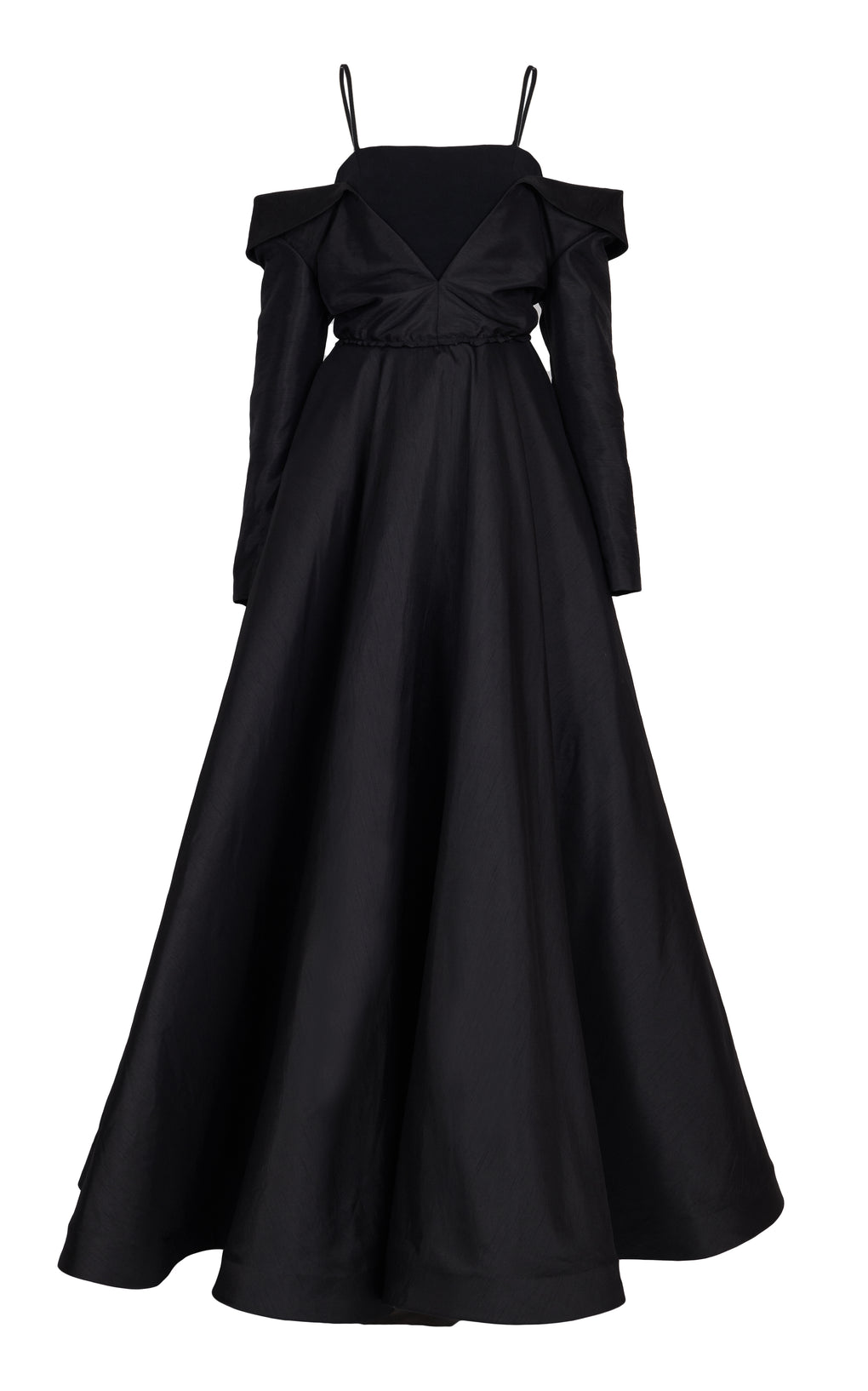 Black full ball gown