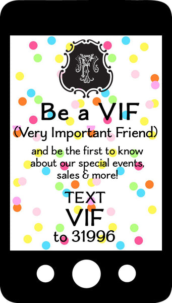 VIF  Very Important Friend