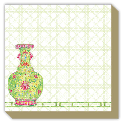 Mini Luxe Notepad (pagoda or chinoiserie)