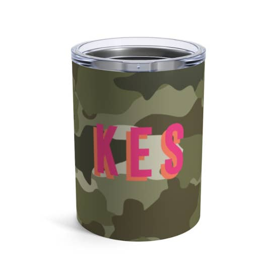 Custom Camo Insulated Mug