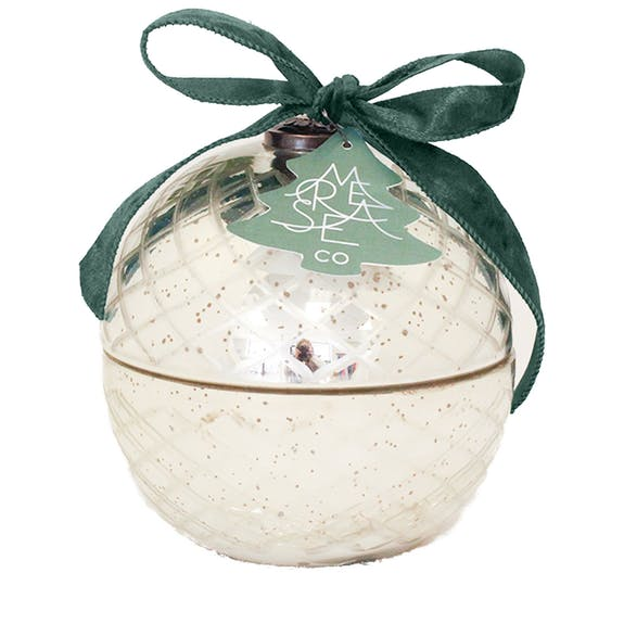Sea Pine Retro Ornament Holiday Candle