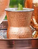Hammered Copper Cup