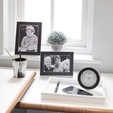 Addison R 5x7 Black Croc Photo Frame