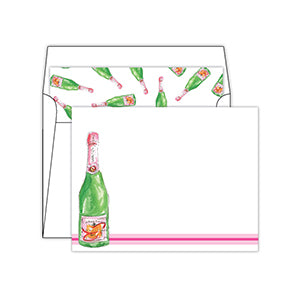 Champagne Social Stationery Set