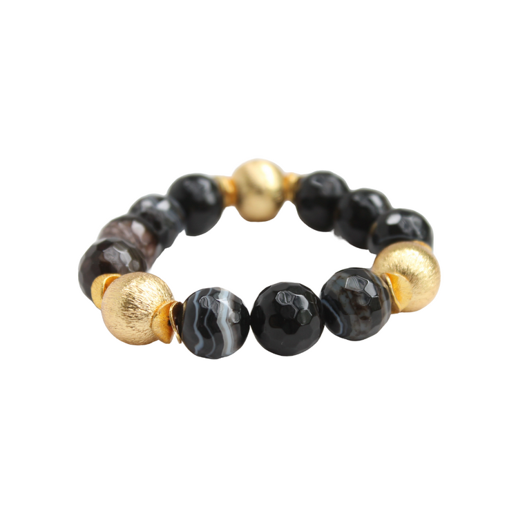 Hazen & Co. Addison Bracelet Black