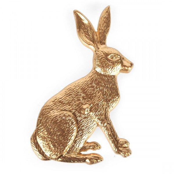 Gold Rabbit Napkin Ring