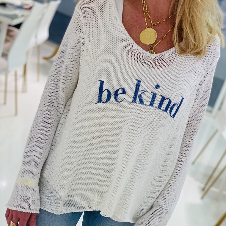 Be Kind Cotton Sweater