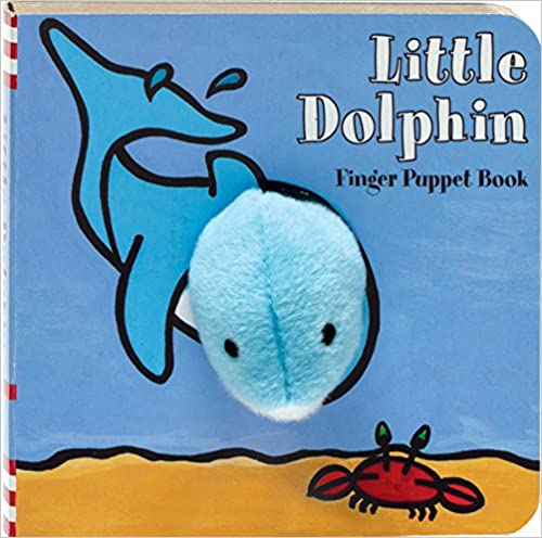 Little Animal Puppet Book (dolphin, lamb, shark, and turtle)