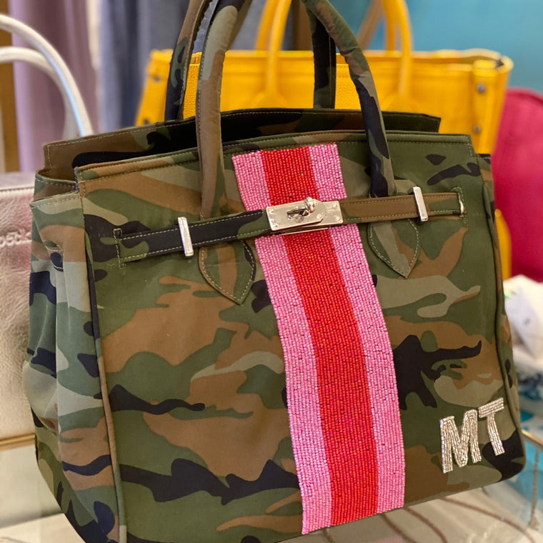 Custom Camo Tote Bag
