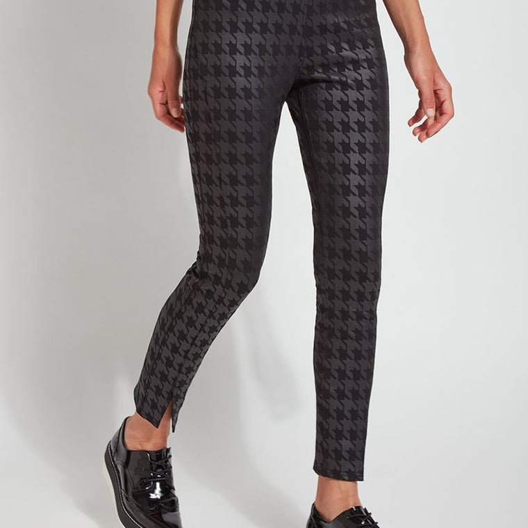 Lysse Houndstooth Foil Split Denim