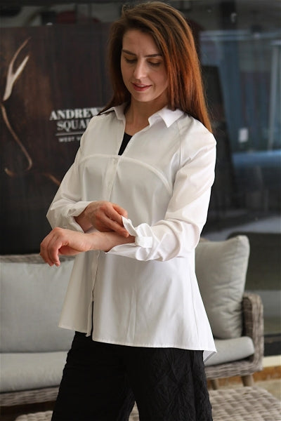 Ravel Bow-Back Blouse