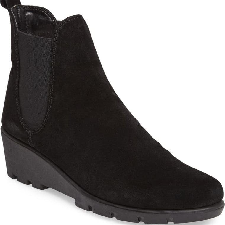 Black Suede Boot by Flexx