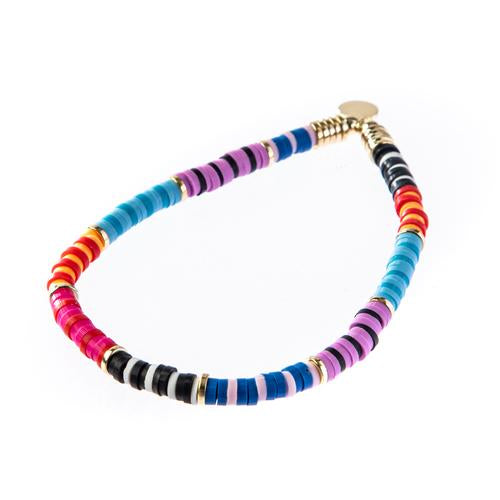 Skinny Disc Bracelet (multiple variants)