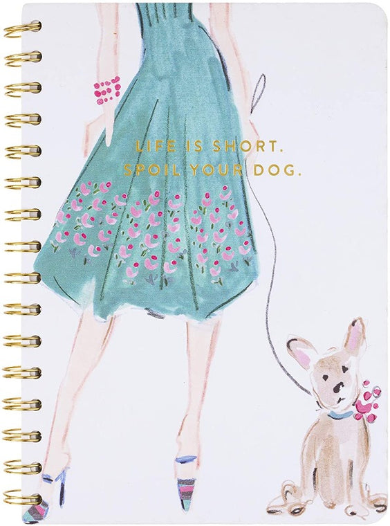 Spoil Your Dog Spiral Notebook