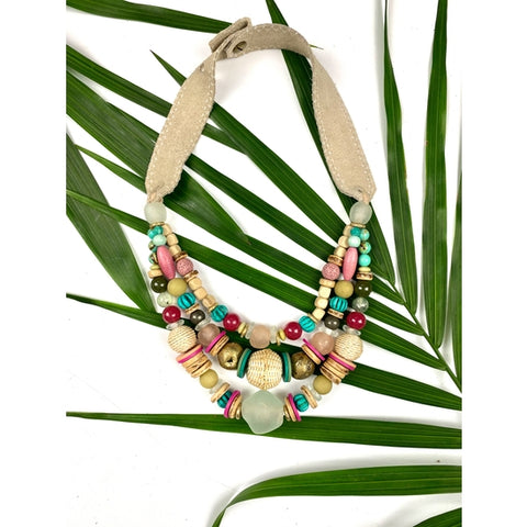 Layered Classic Necklace Palm