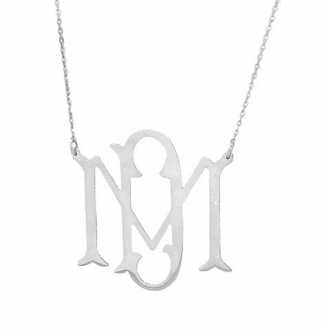 2-Letter Monogram Necklace
