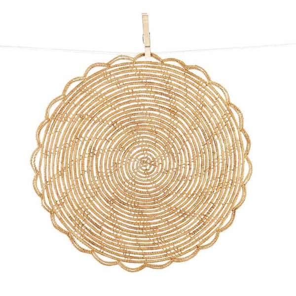 Bamboo Cane Placemat Set Of 4