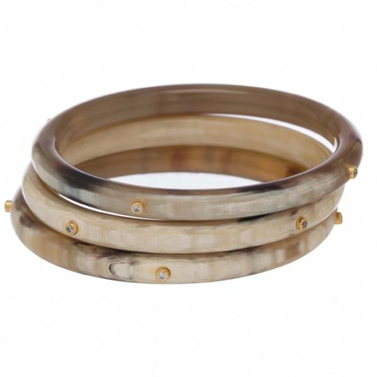 Buffalo Horn Bangle Set-3