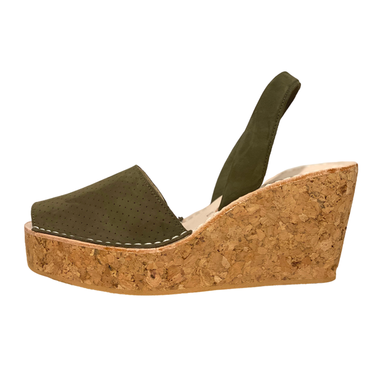 CalaXini Wedge- Tundra Green