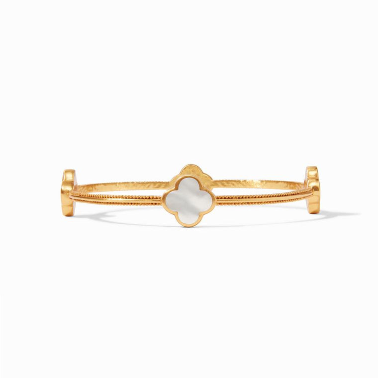 Julie Vos Chloe Bangle Pearl