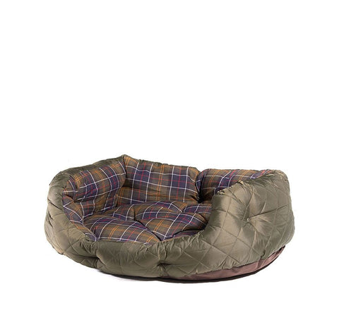 Barbour Quilted Dog Bed 30 Inches