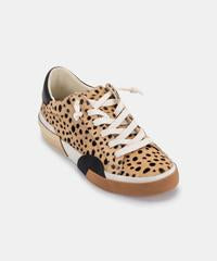 Zina Sneakers In Leopard Calf Hair
