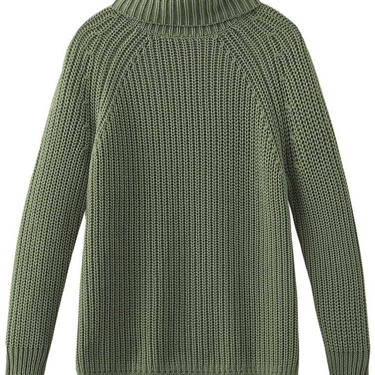 Stella Cotton Shaker Turtleneck
