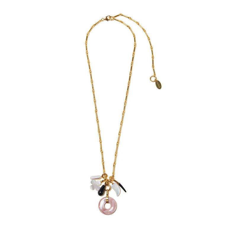 Gia Charm Necklace