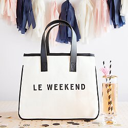 Le Weekend Canvas Bag