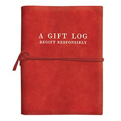 Suede Journal Gift Guide: Re-gift Responsibly