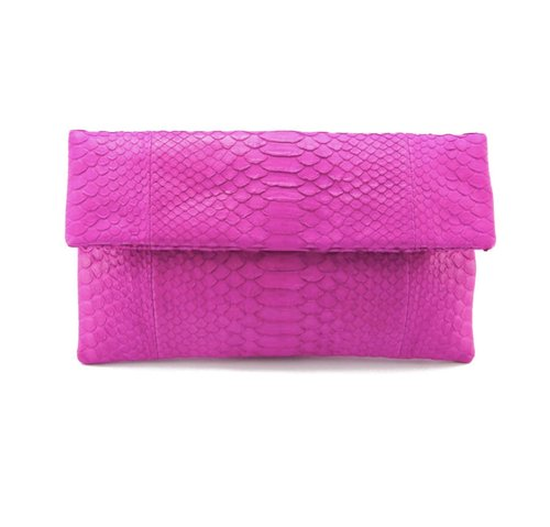 Parker & Hyde Hot Pink Clutch