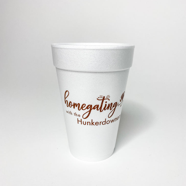 Homegating Styro Cups
