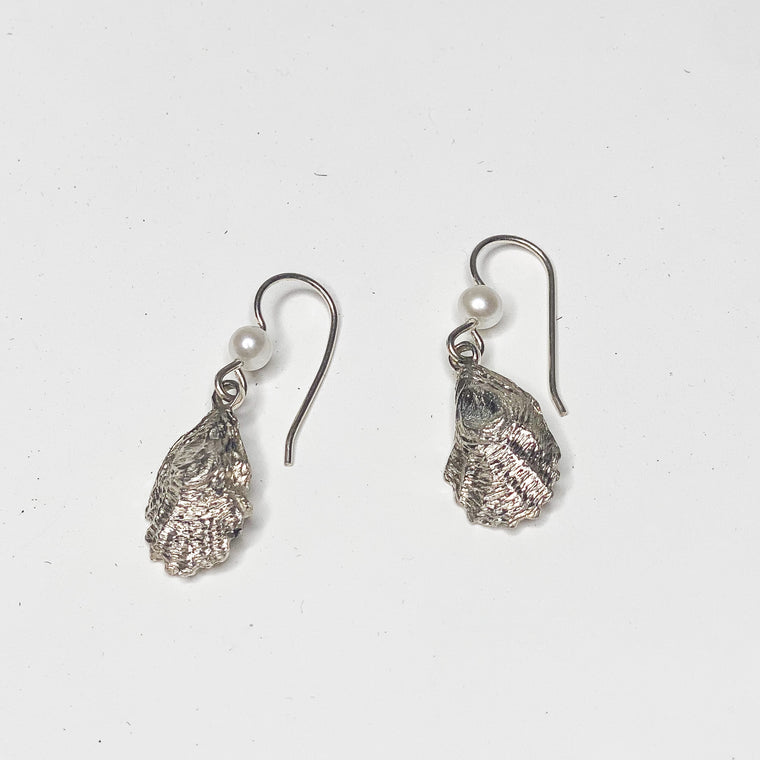 Mark Lexton Oyster Shell Dangle Earrings