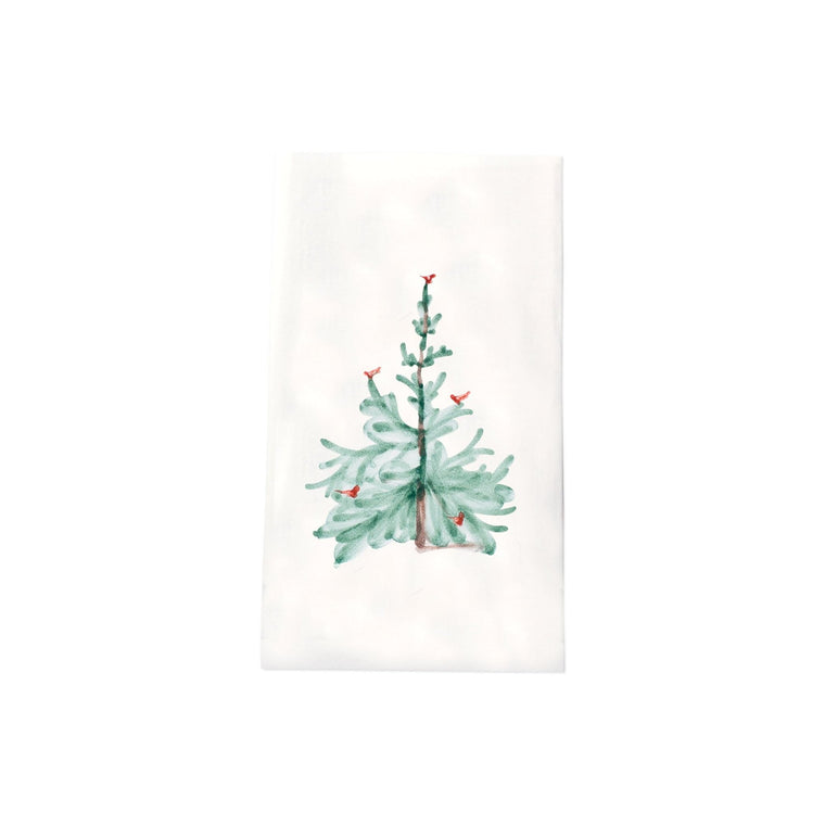 Vietri Lastra Holiday Guest Towels