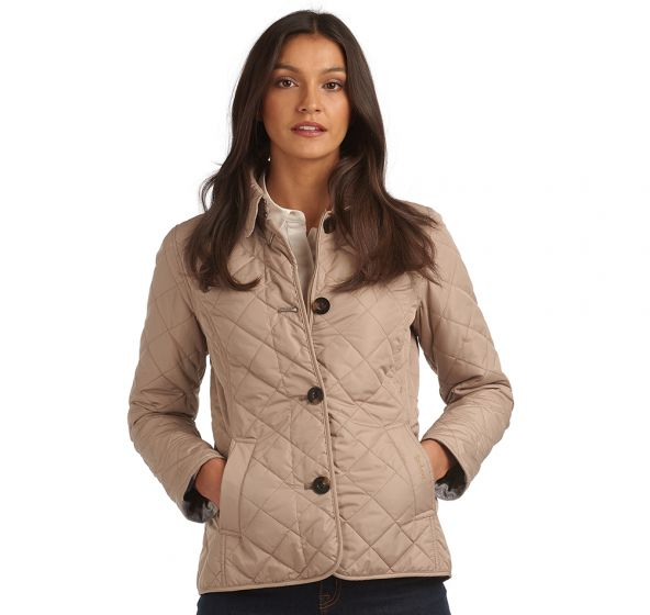 Barbour Forth Quilt Beige