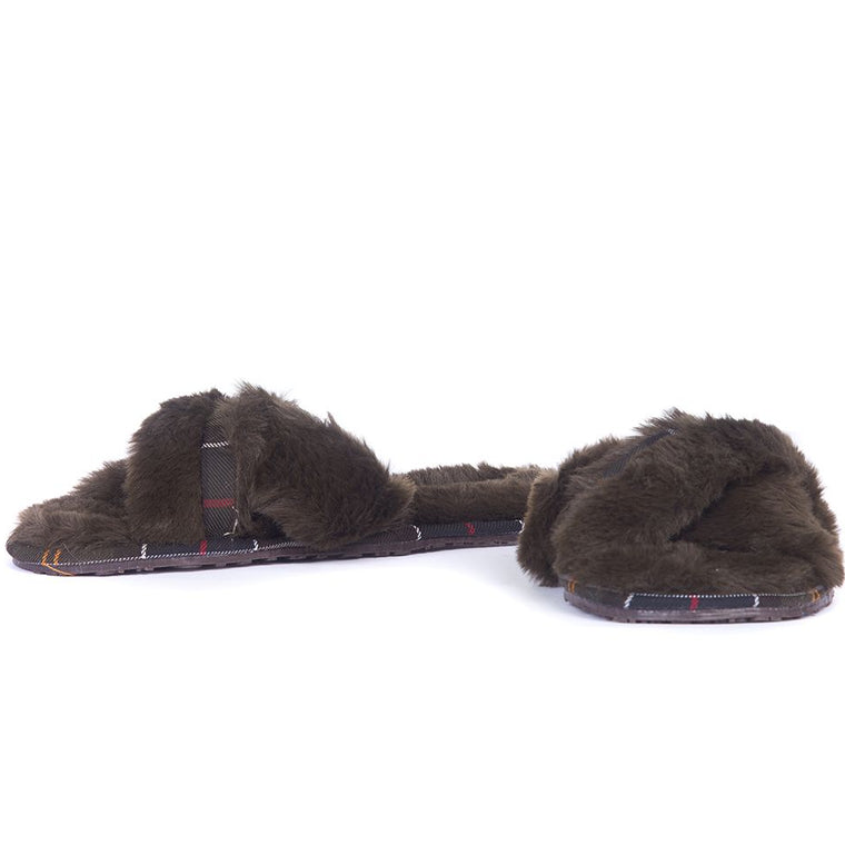Barbour Lottie Slippers Brown