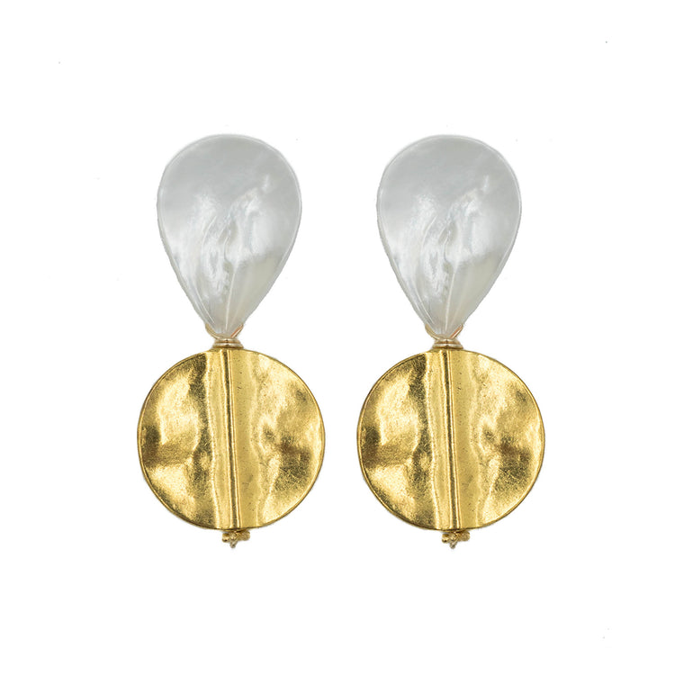 Gold Lively Earring