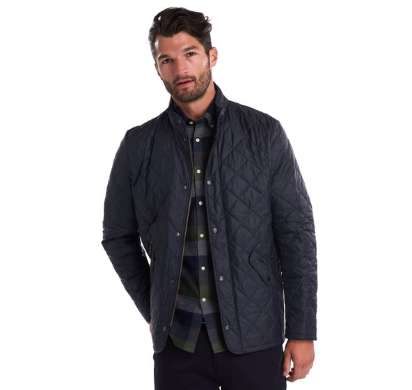Barbour Flyweight Chelsea Jacket-Navy