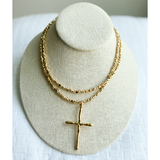 Janet Gregg Gold Beaded Chain