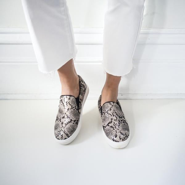 Flexx Snakeskin Slip-On