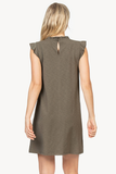 Lilla P - Ruffle Neck Dress